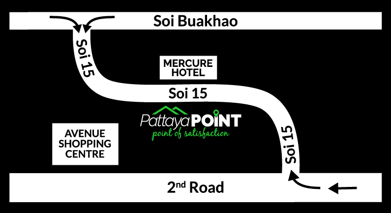 Pattaya Point Map & Directions